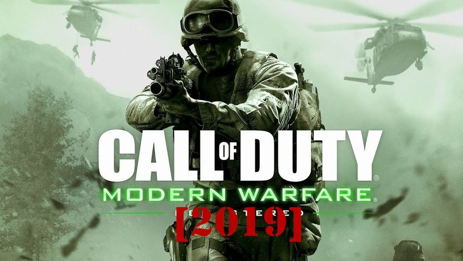 Spoof image for the new Call of Duty: Modern Warfare