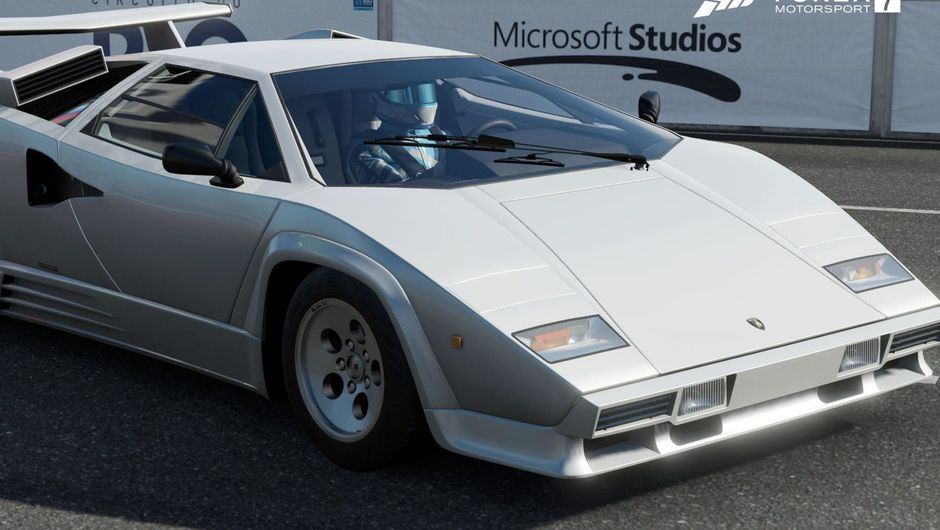 Lamborghini Countach screenshot from Forza Motorsport 7