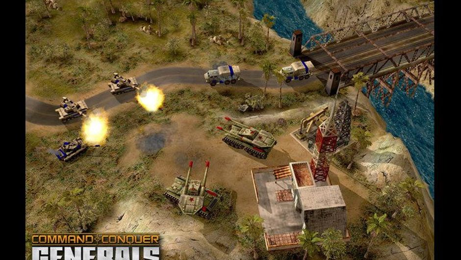 Screenshot from Command & Conquer: Generals