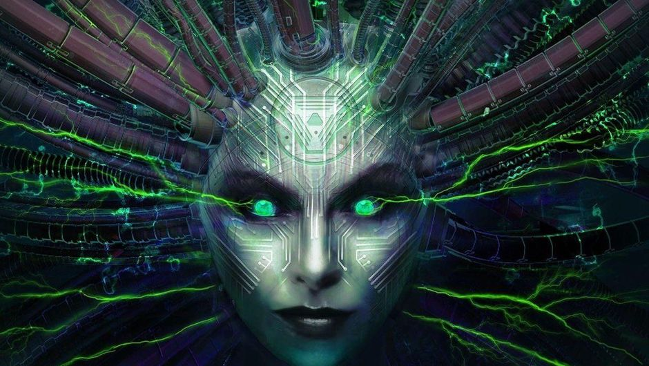 Shodan from System Shock in a newer format, with HD graphics