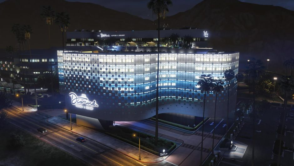 GTA Online, Diamond Casino & Resort building