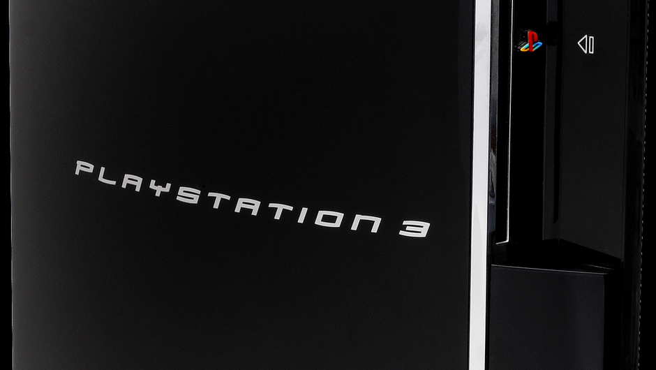 Closeup photo of Sony PlayStation 3
