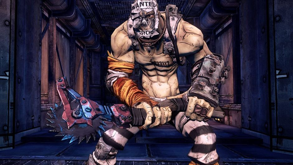 Picture of Krieg from Borderlands 2
