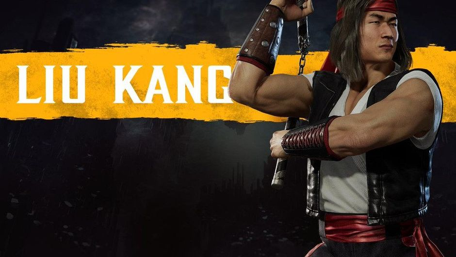 picture showing a fighter from mortal kombat 11