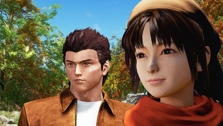 picture showing characters from shenmue 3