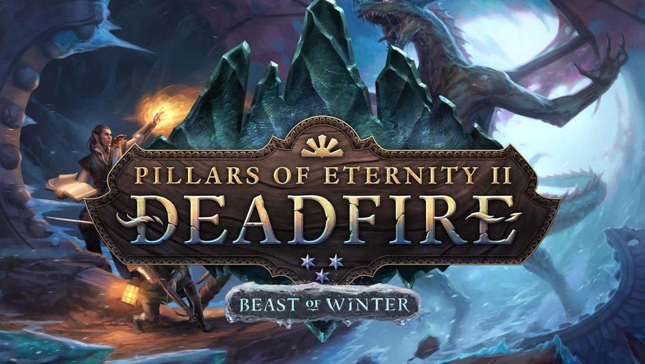 Poster for Pillars of Eternity 2 expansion Beast of Winter