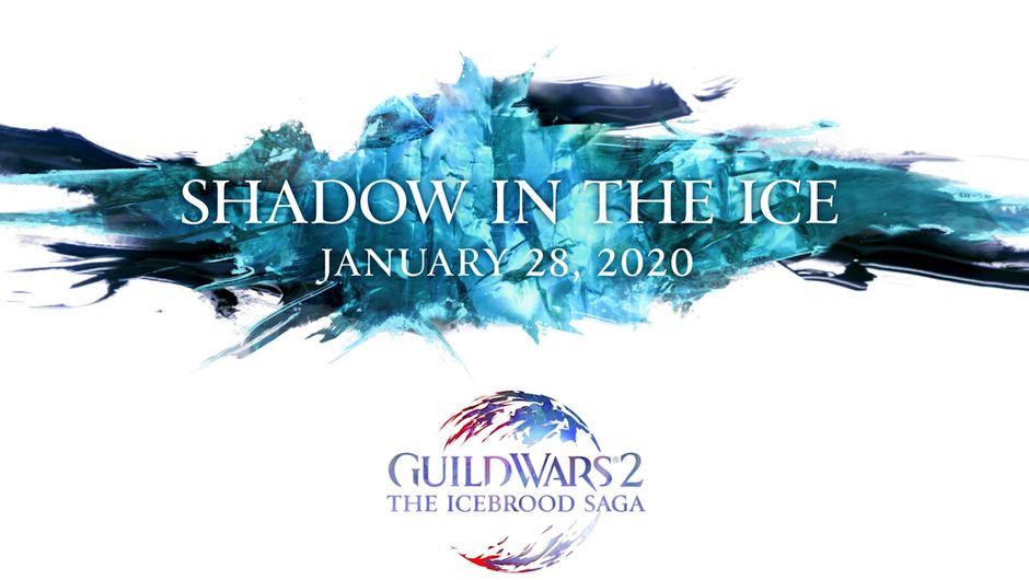 guild wars 2 artwork showing shadow in the ice keyart g
