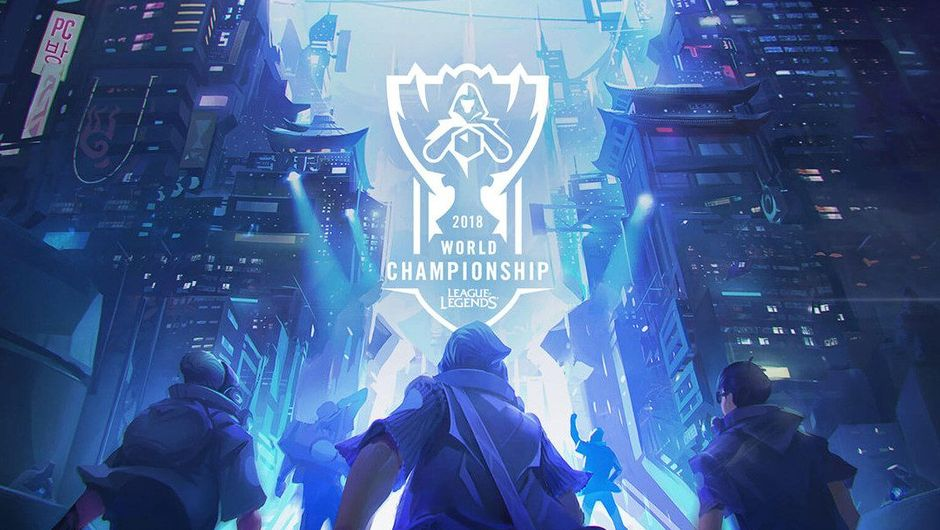 Promotional picture for League of Legends World Championship 2018