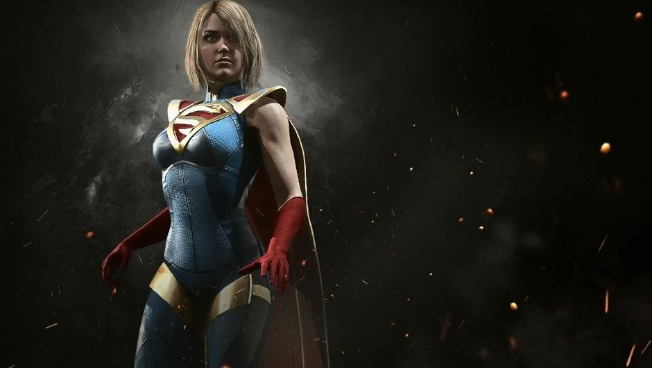 Superwoman, one of the characters from Injustice 2