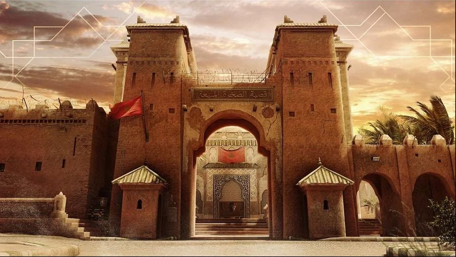 Picture of the new map, named Fortress, in Rainbow Six Siege
