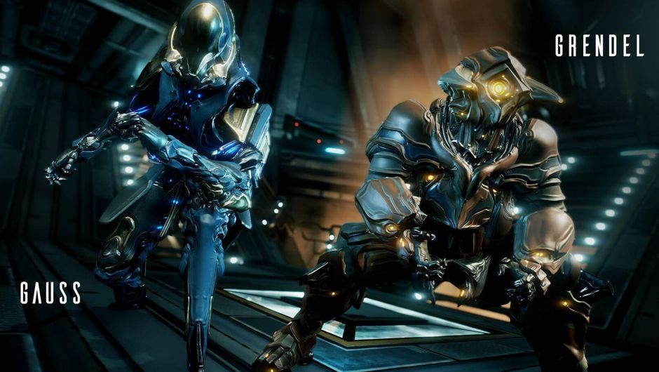 Gauss and Grendel, two upcoming Warframe characters