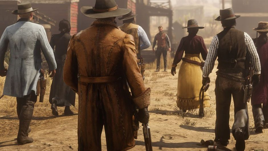 picture showing characters in RDR2