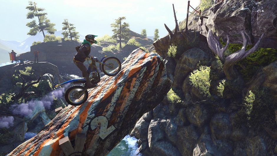 picture showing a character on a motorbike