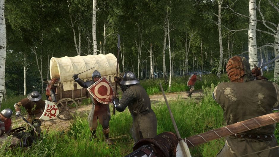 A training camp in Kingdom Come: Deliverance