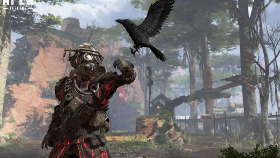 Apex Legends character Bloodhound
