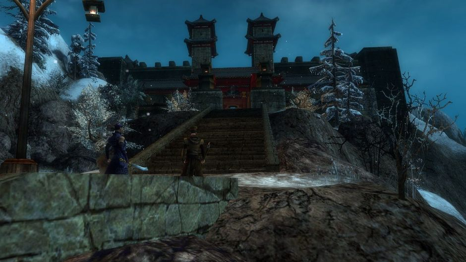 Picture of the palace in Master Togo's Story in Guild Wars