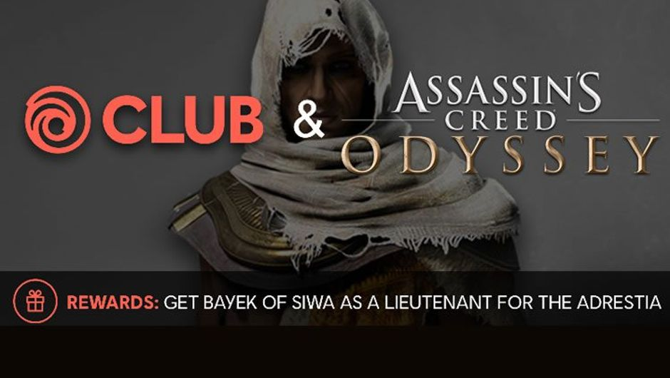 Assassin's Creed: Odyssey's last addition Bayek, from Origins