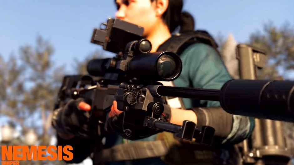 Picture of the Nemesis sniper rifle in The Division 2