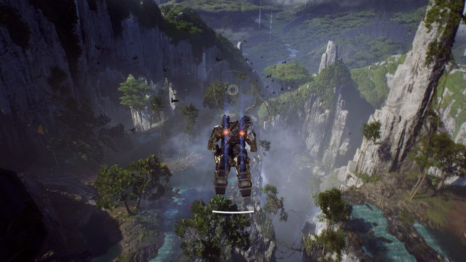 picture showing flying robot