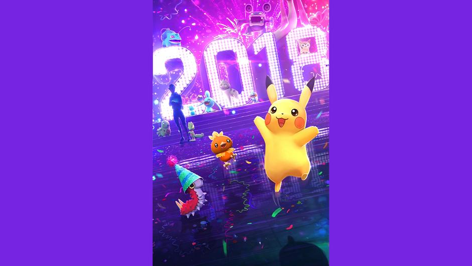 2018 loading screen for Pokemon GO
