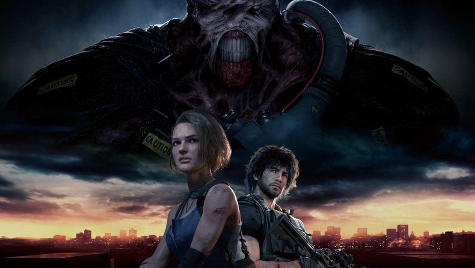 Key art for Resident Evil 3.