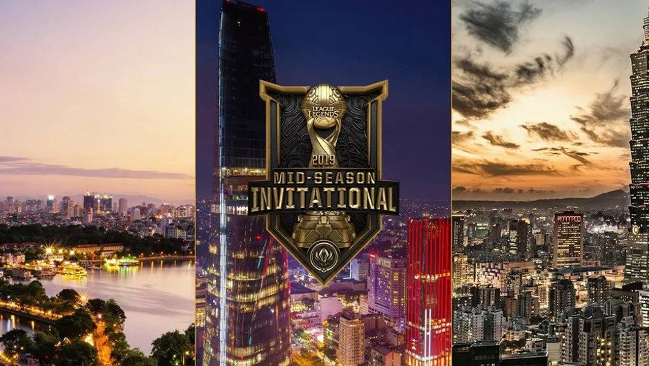 Promotional image for League of Legends MSI 2019