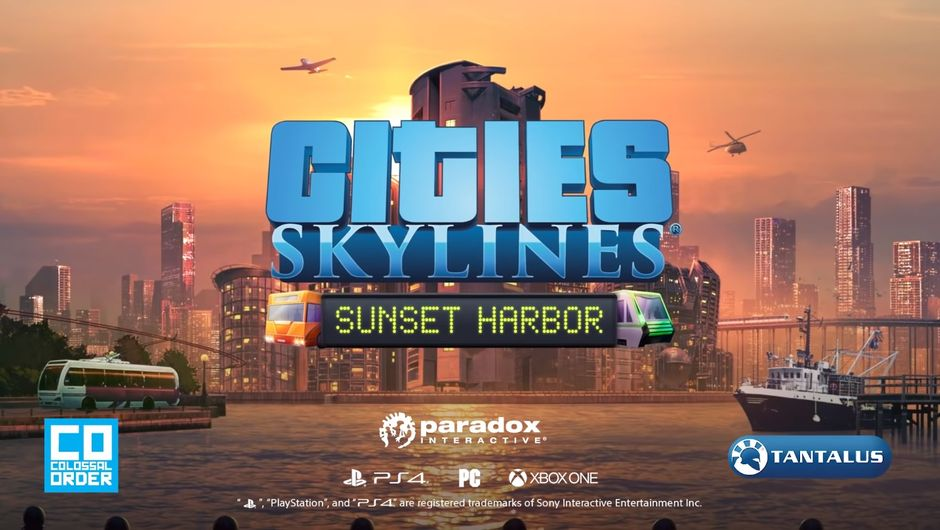 Cities: Skylines - Sunset Harbor DLC