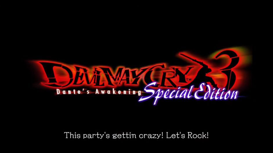 Devil May Cry 3 Special Edition logo