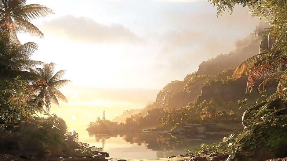 Cryengine screenshot showing crysis remastered