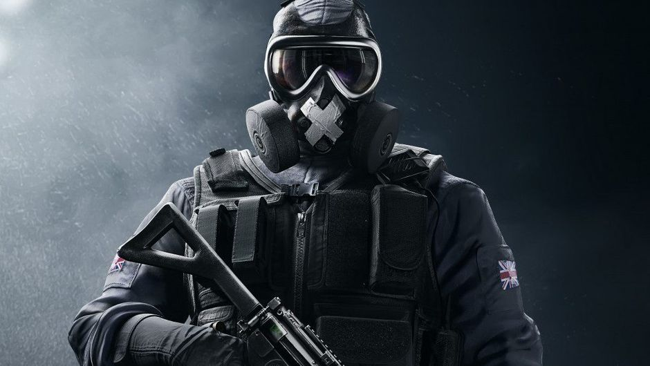 Promotional image for Rainbow Six Siege's operator Mute.
