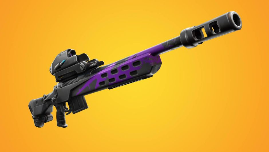 Fortnite's new weapon, the Storm Scout sniper rifle