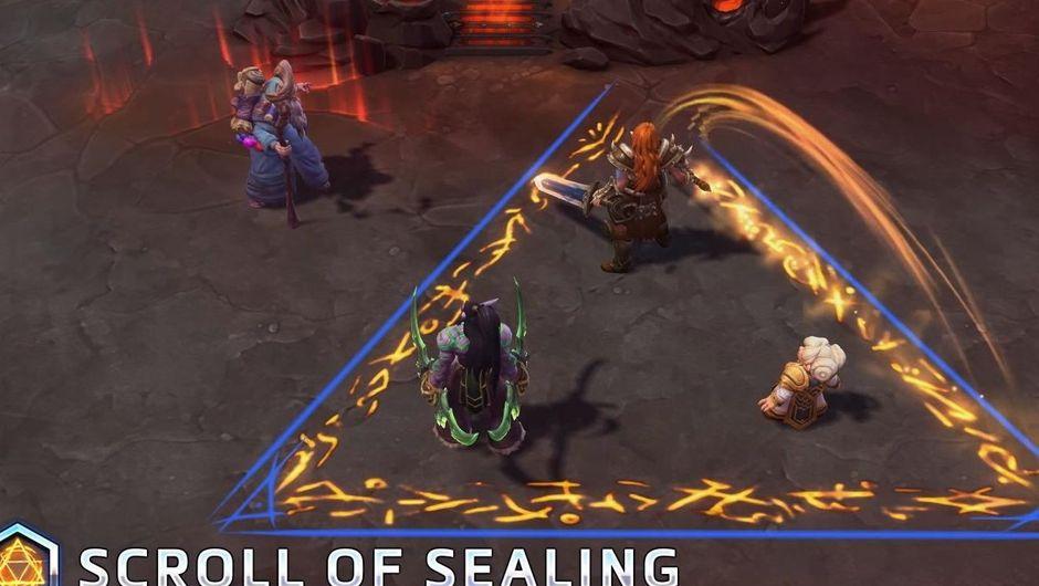 Scroll of Sealing Deckard Cain ability