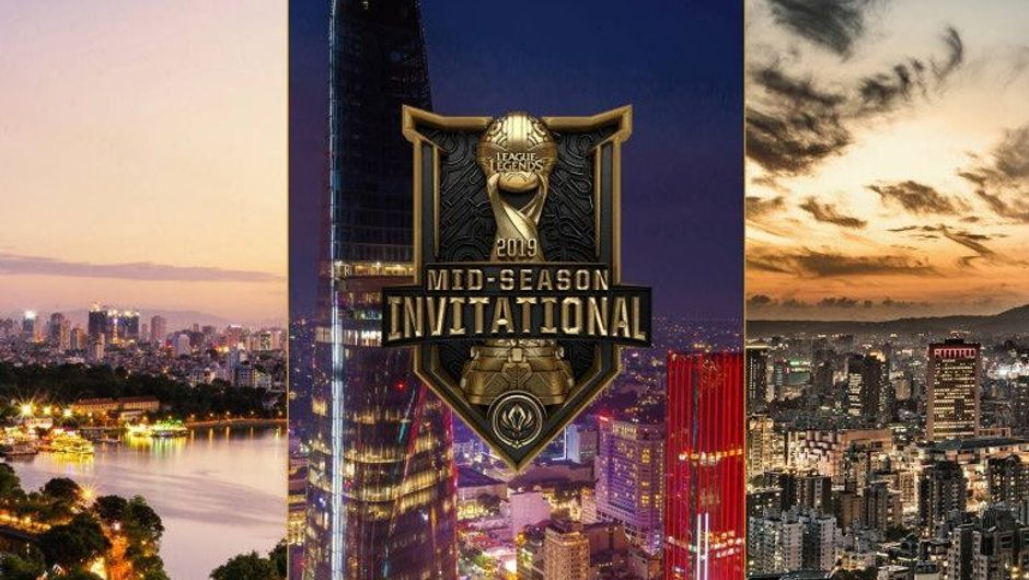Promotional image for League of Legends - MSI 2019
