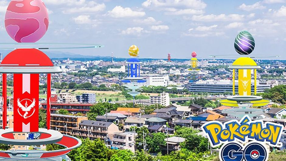 Promotional image for the Pokemon Go raid week
