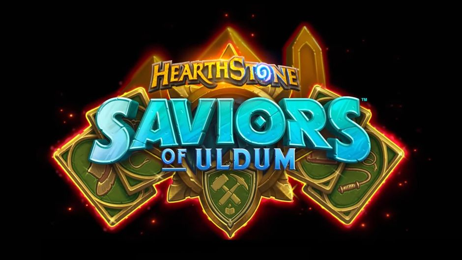 Hearthstone: Saviours of Uldum logo