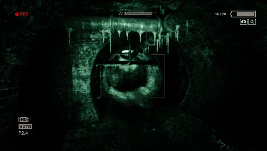 Promotional image for Outlast horror game