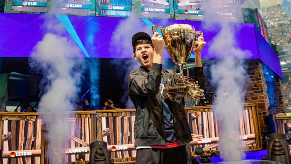 Fortnite World Cup winner in Solos category