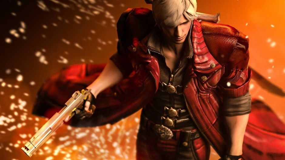 picture showing a character from Devil May Cry