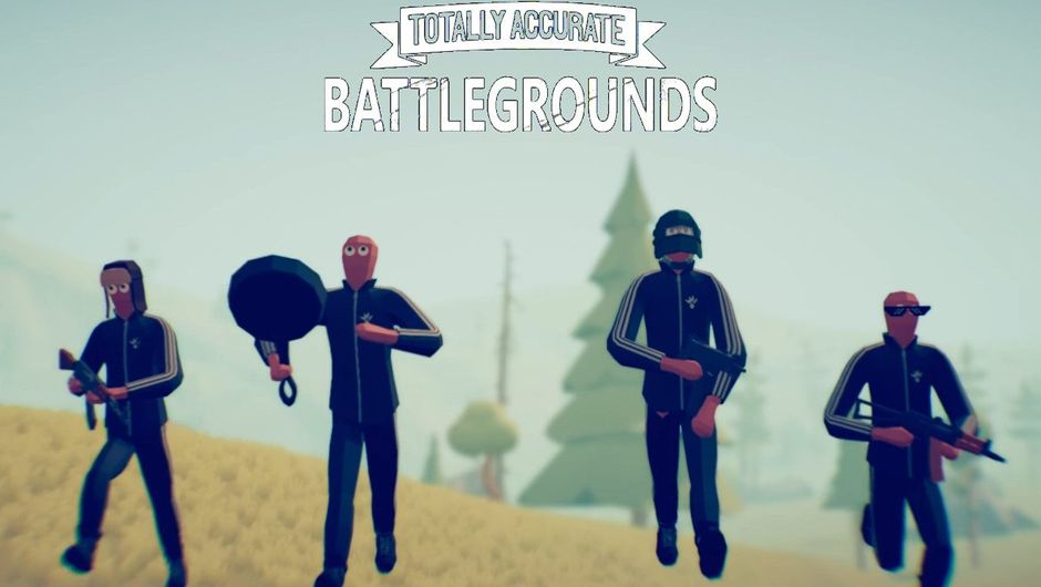 Image from a spoof game named Totally Accurate Battlegrounds