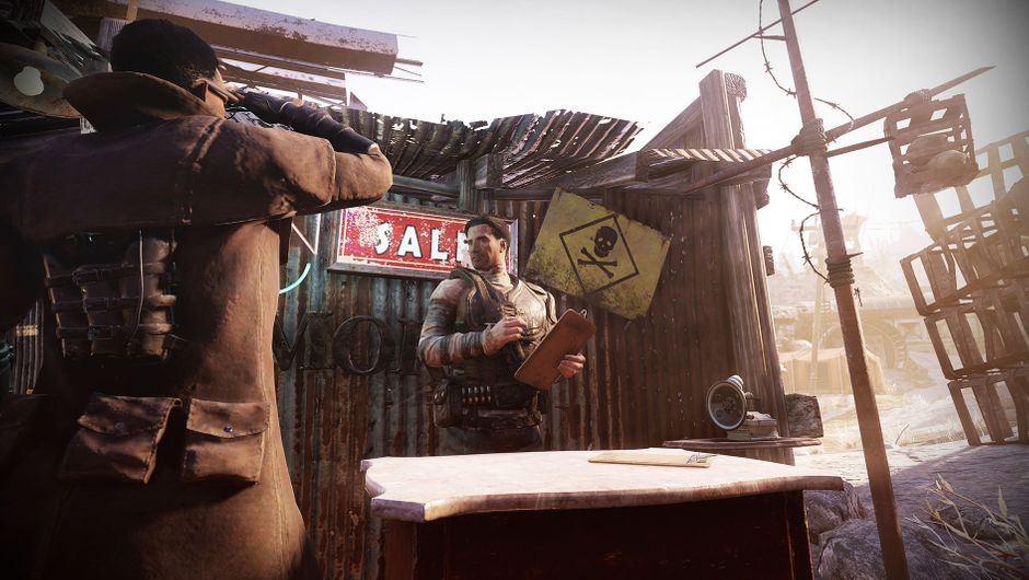 Fallout 76: Wastelanders characters bartering