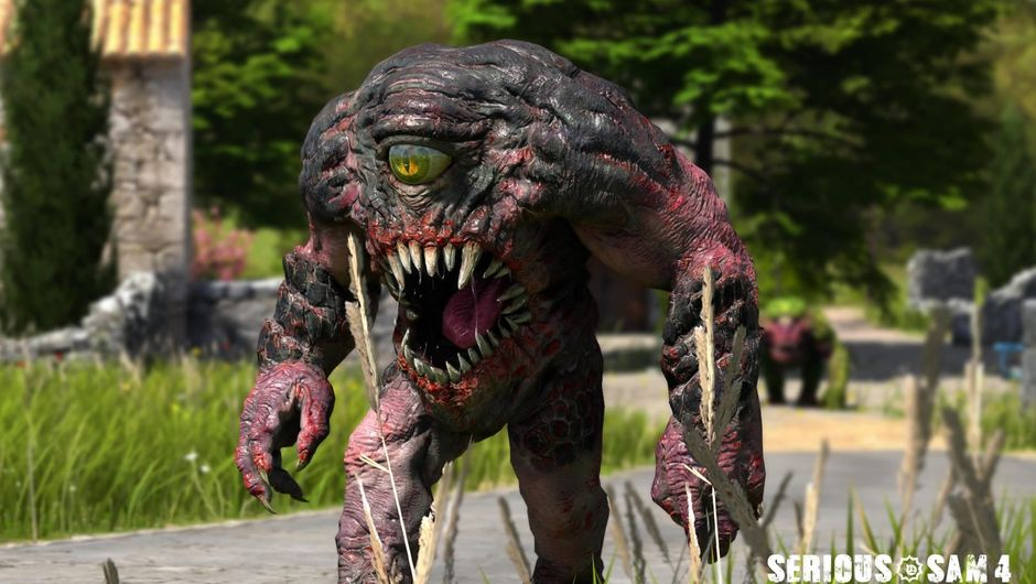 A large monster from the upcoming game Serious Sam 4: Planet Badass