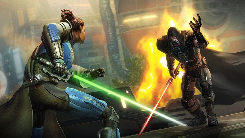 Promotional image for the new Star Wars: The Old Republic expansion