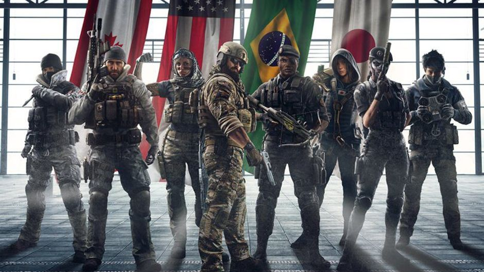 Picture of Year One operators in Rainbow Six Siege