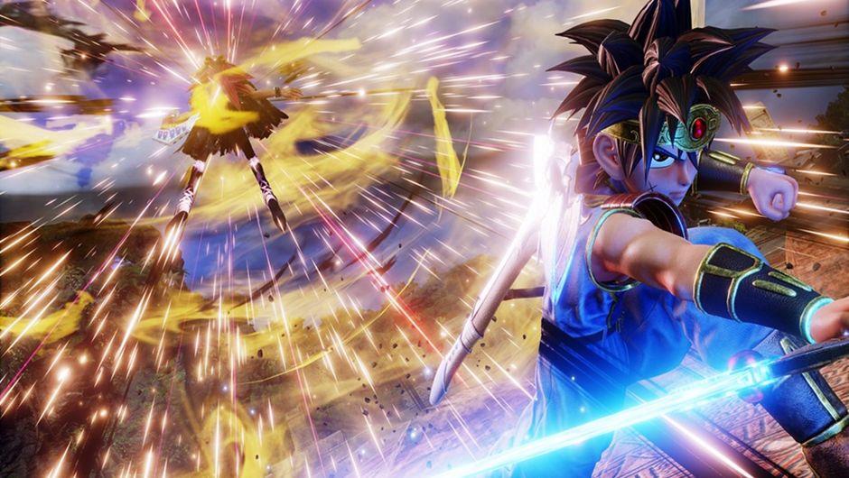 Dai versus Yugi Muto in Jump Force.