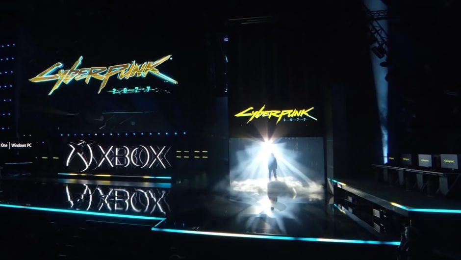 Cyberpunk 2077 presentation with Keanu Reeves