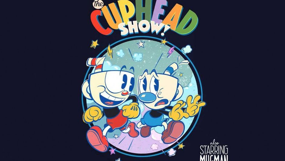 artwork showing the cuphead show from netflix