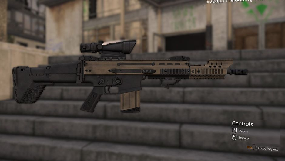 Picture of an Mk 17 in The Division 2