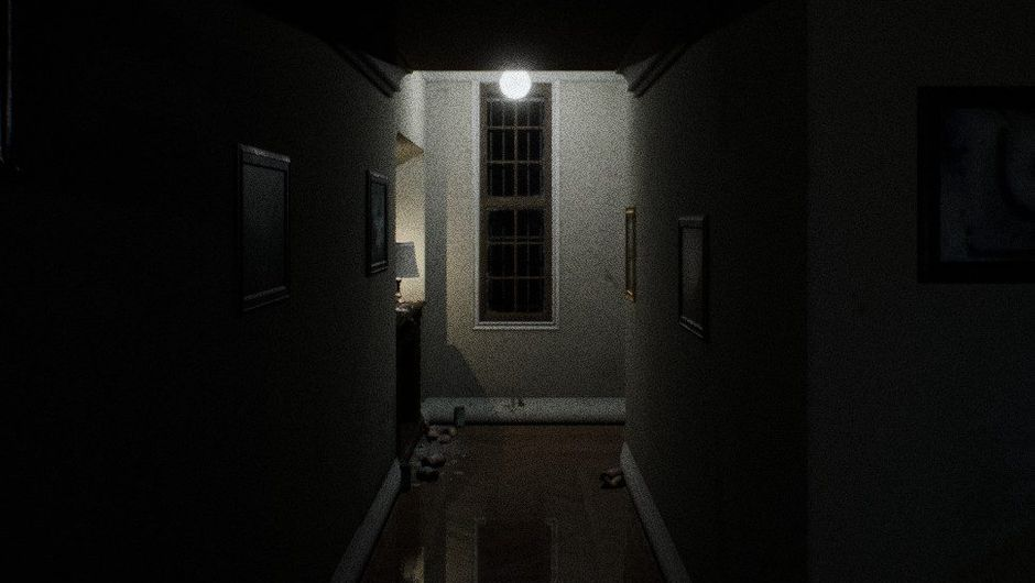 Screenshot from fan made remake of P.T. by Qimsar