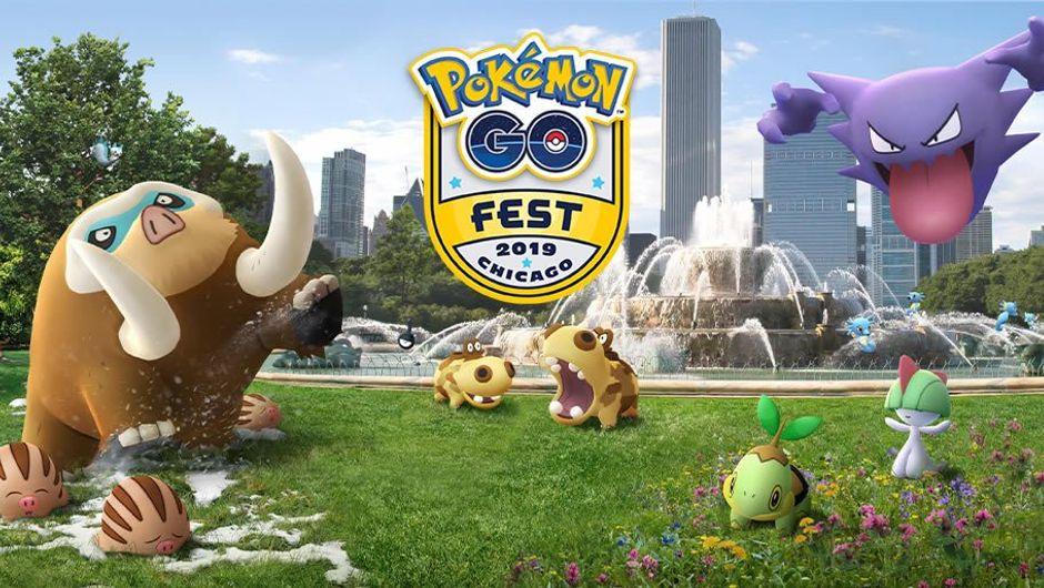 Pokemon GO announcement of Chicago Fest