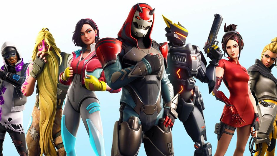fortnite artwork showing several characters from season 9